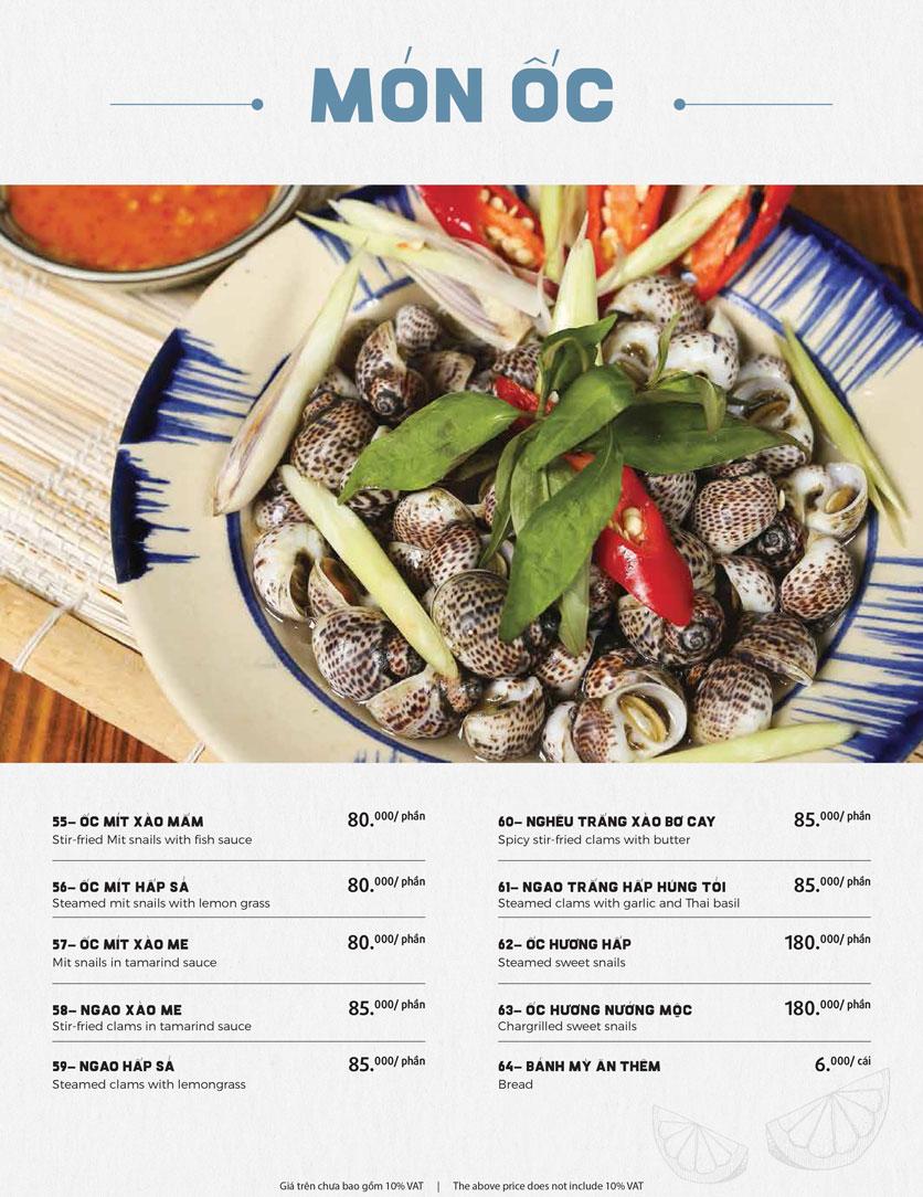 Menu Món Ngon Sài Thành - Huỳnh Thúc Kháng 16
