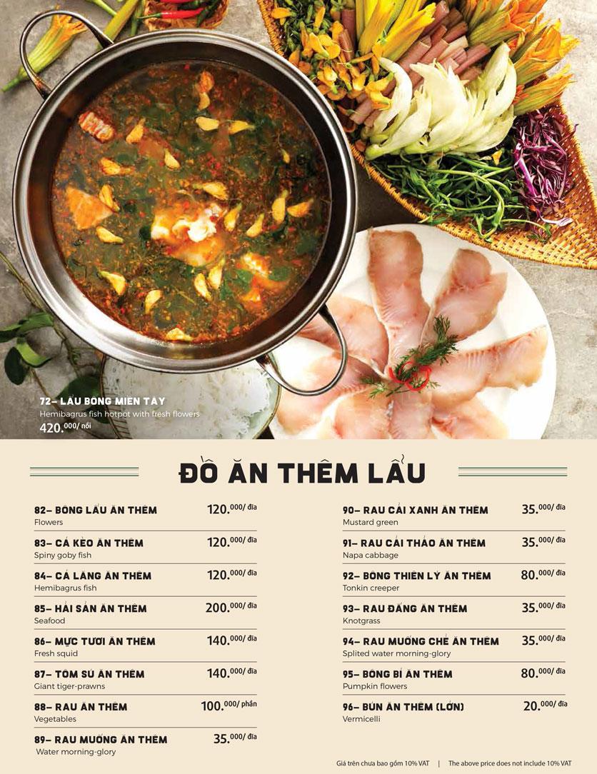 Menu Món Ngon Sài Thành - Huỳnh Thúc Kháng 22