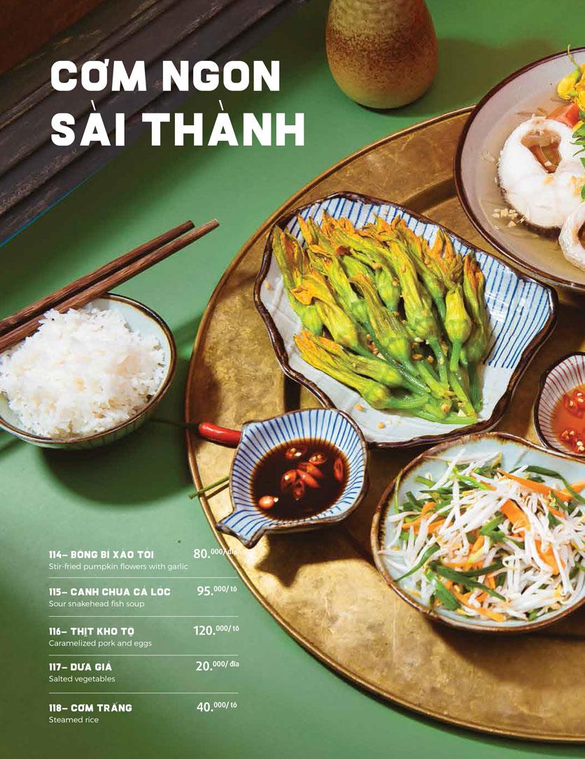 Menu Món Ngon Sài Thành - Huỳnh Thúc Kháng 25