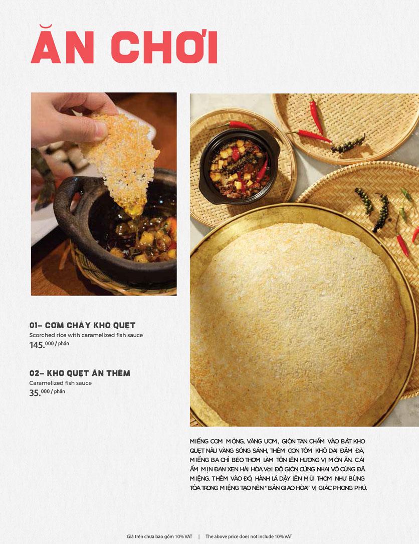 Menu Món Ngon Sài Thành - Huỳnh Thúc Kháng 1