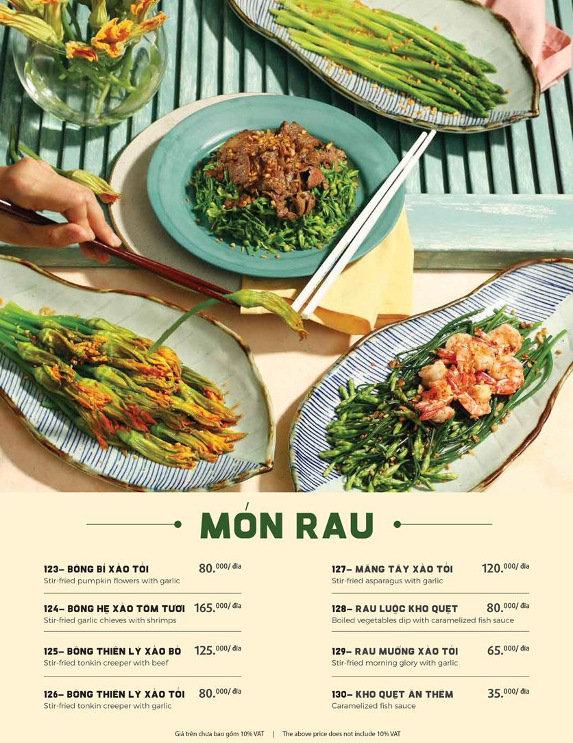Menu Món Ngon Sài Thành - Huỳnh Thúc Kháng 28