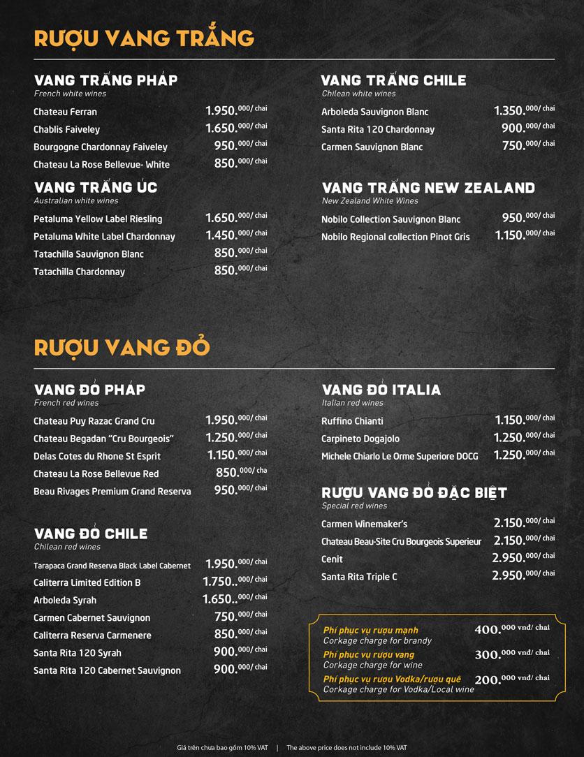 Menu Món Ngon Sài Thành - Huỳnh Thúc Kháng 35