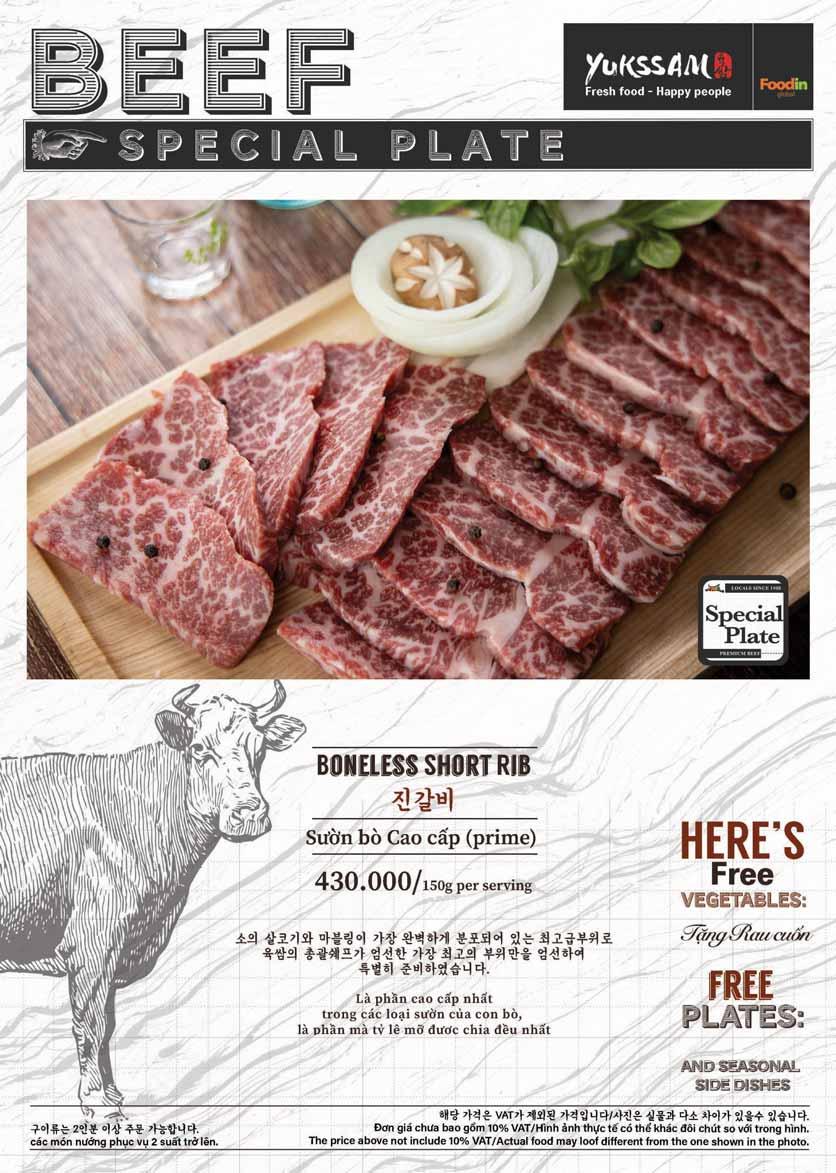 Menu Yukssam BBQ - Trần Thái Tông  15