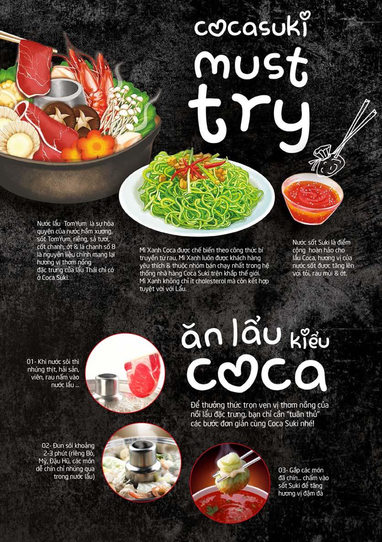 Menu COCA Restaurant - Nhà hàng lẩu Thái - Láng Hạ 9