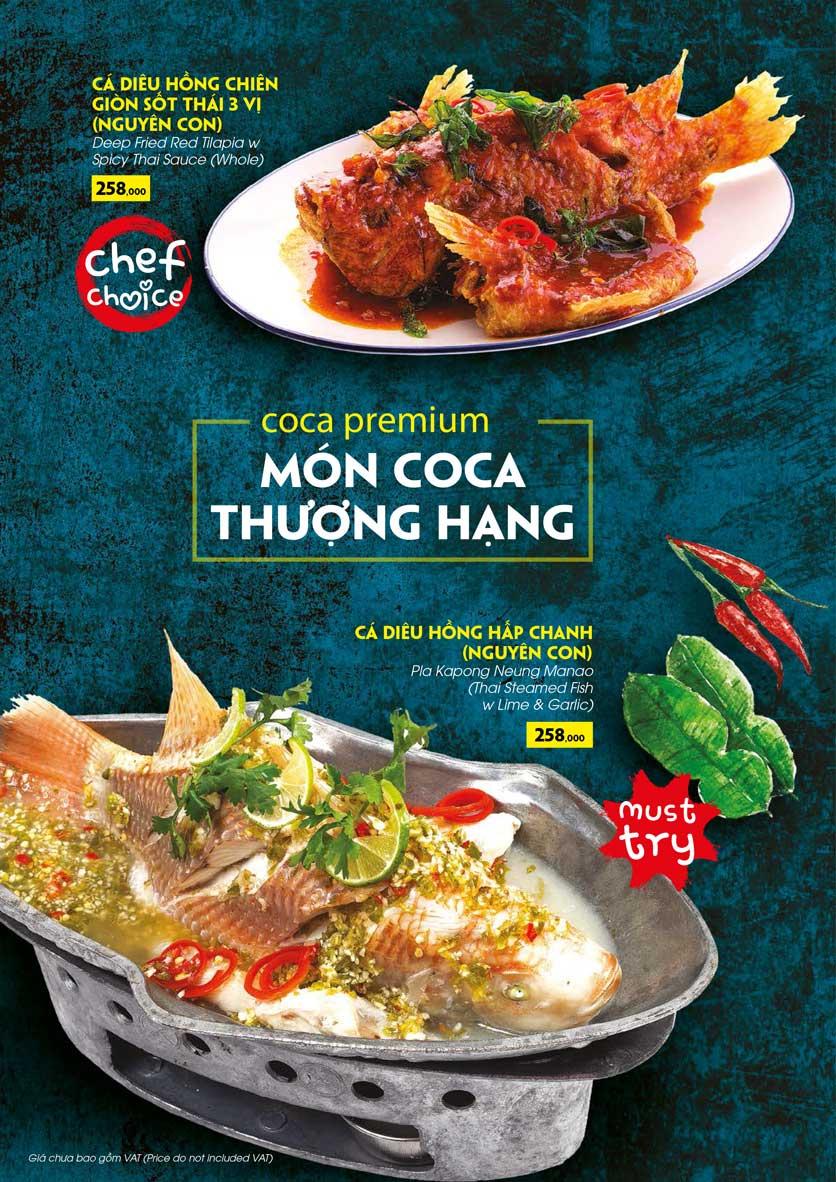 Menu COCA Restaurant - Nhà hàng lẩu Thái - Láng Hạ 19