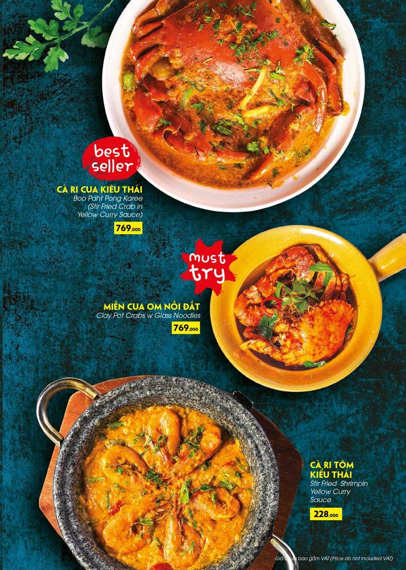 Menu COCA Restaurant - Nhà hàng lẩu Thái - Láng Hạ 20
