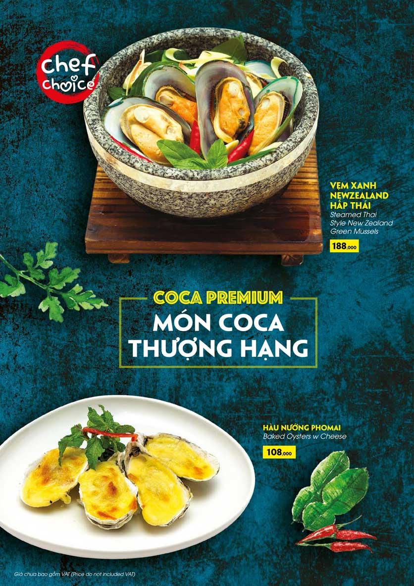 Menu COCA Restaurant - Nhà hàng lẩu Thái - Láng Hạ 21