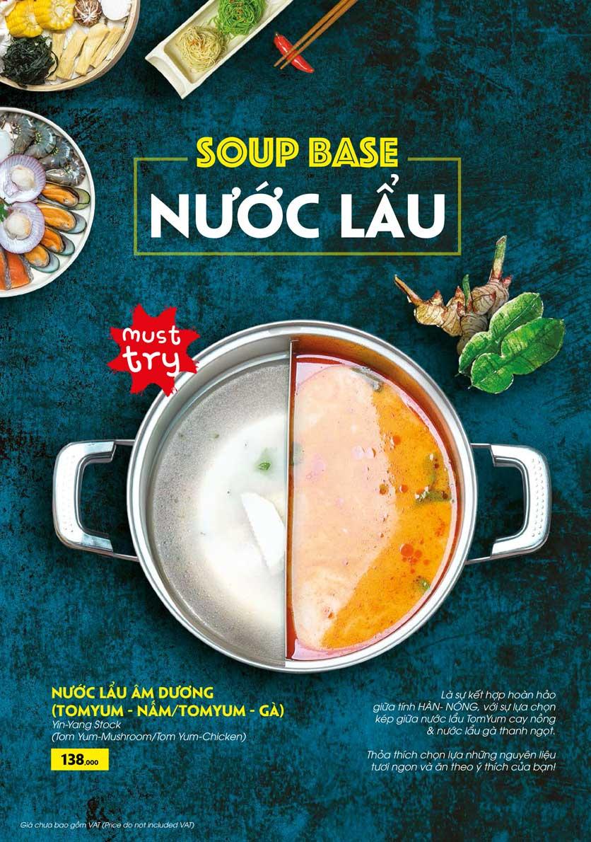 Menu COCA Restaurant - Nhà hàng lẩu Thái - Láng Hạ 23