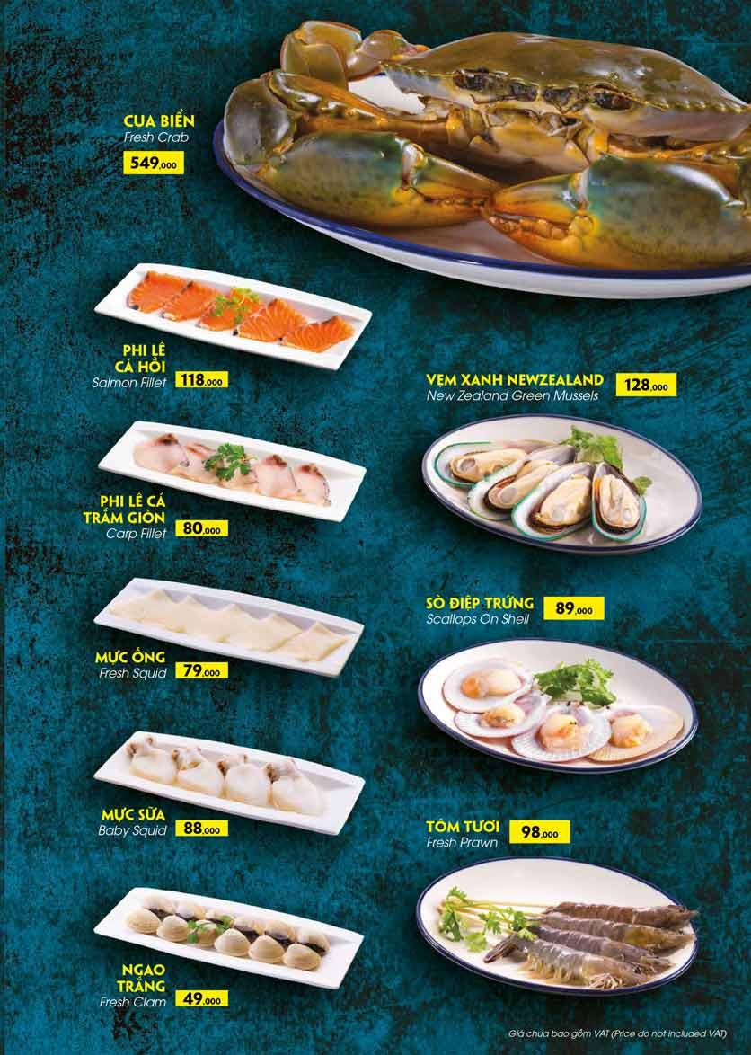 Menu COCA Restaurant - Nhà hàng lẩu Thái - Láng Hạ 26
