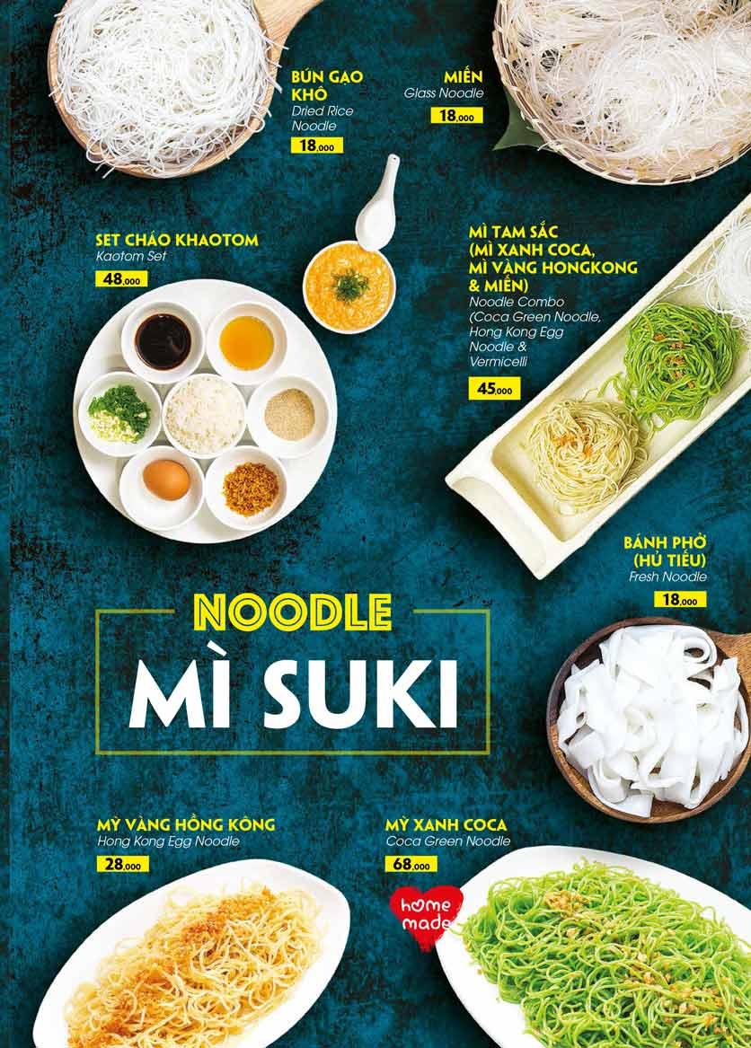 Menu COCA Restaurant - Nhà hàng lẩu Thái - Láng Hạ 30