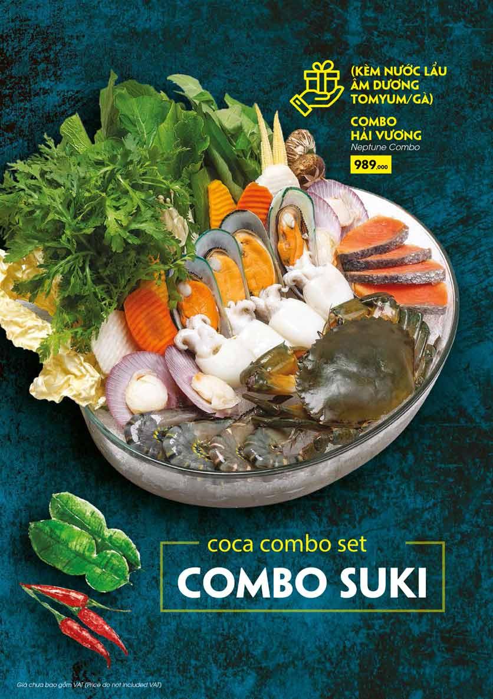 Menu COCA Restaurant - Nhà hàng lẩu Thái - Láng Hạ 33