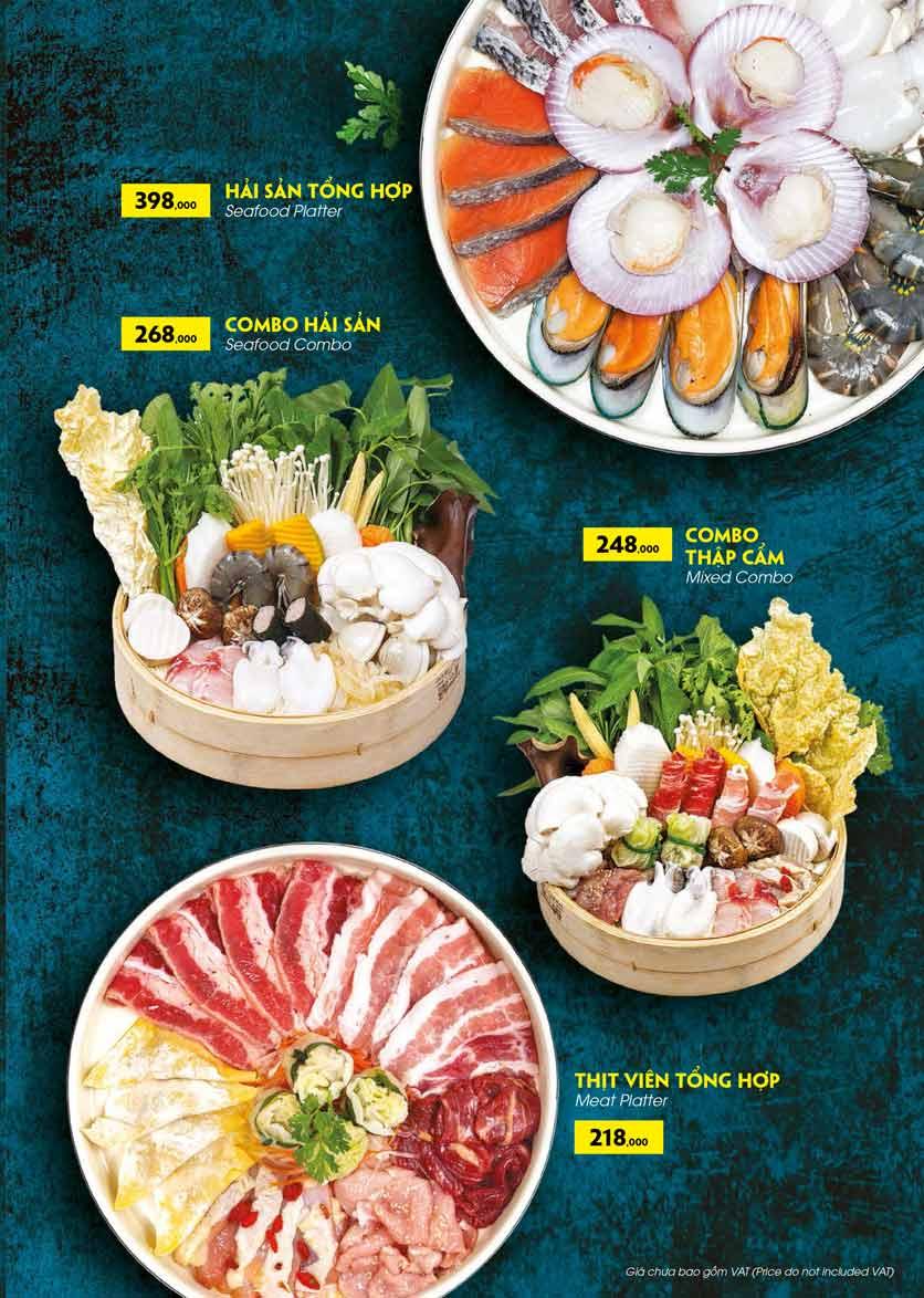 Menu COCA Restaurant - Nhà hàng lẩu Thái - Láng Hạ 34