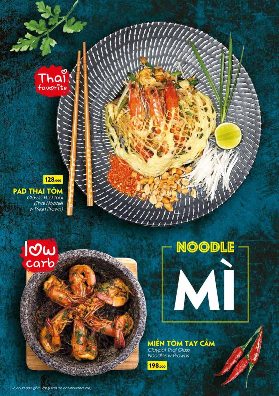 Menu COCA Restaurant - Nhà hàng lẩu Thái - Láng Hạ 35