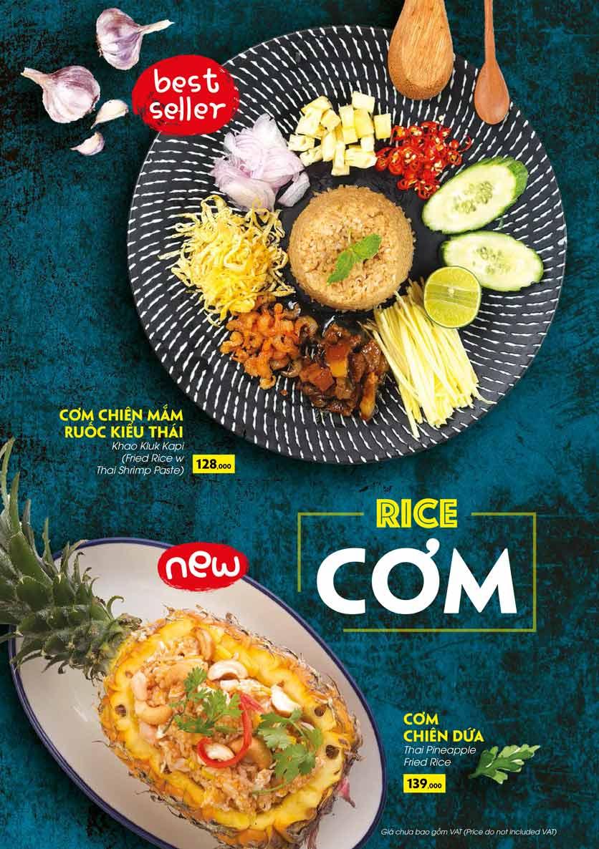 Menu COCA Restaurant - Nhà hàng lẩu Thái - Láng Hạ 37