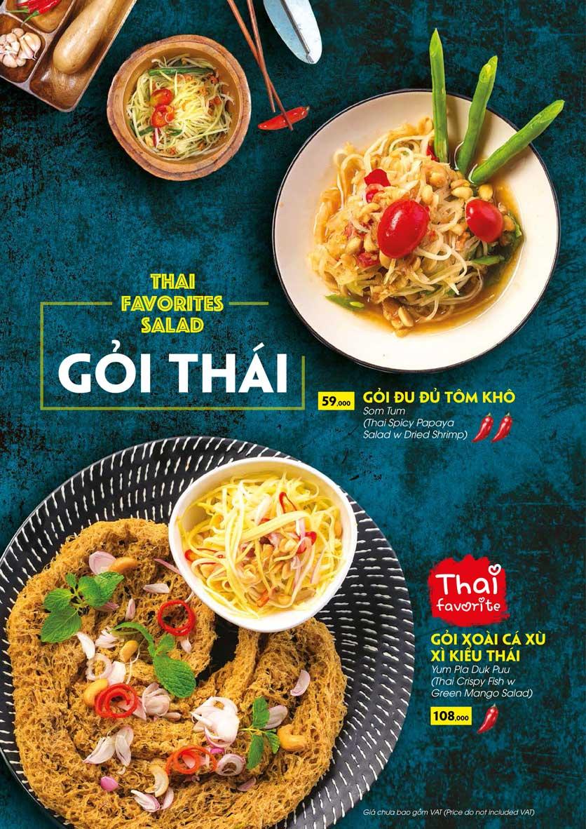 Menu COCA Restaurant - Nhà hàng lẩu Thái - Láng Hạ 11