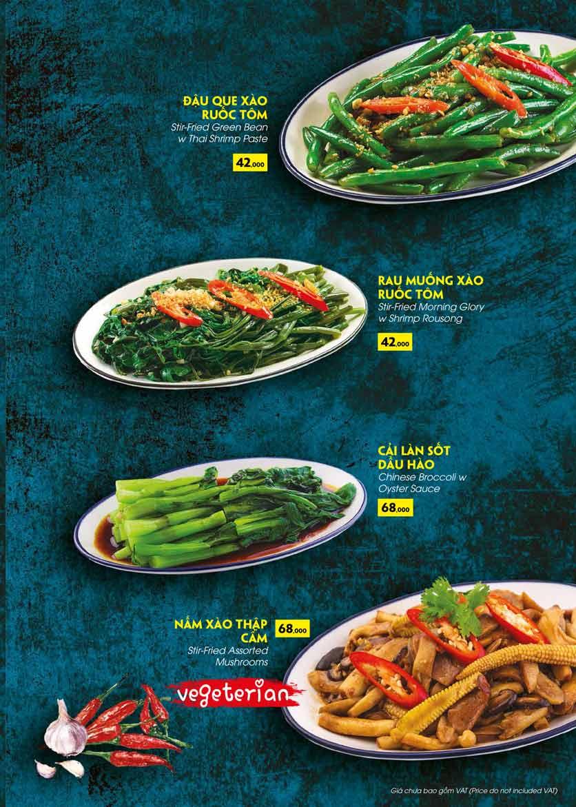 Menu COCA Restaurant - Nhà hàng lẩu Thái - Láng Hạ 40