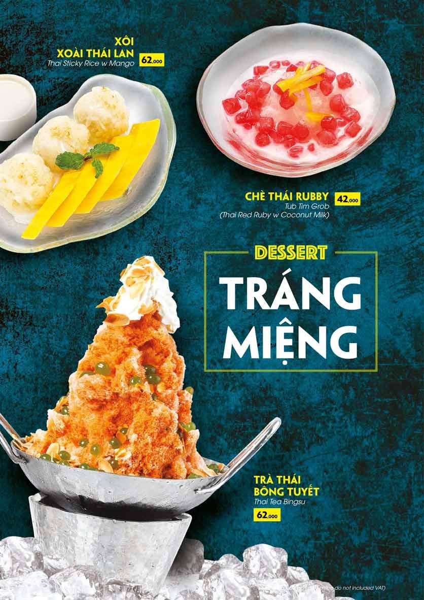 Menu COCA Restaurant - Nhà hàng lẩu Thái - Láng Hạ 41