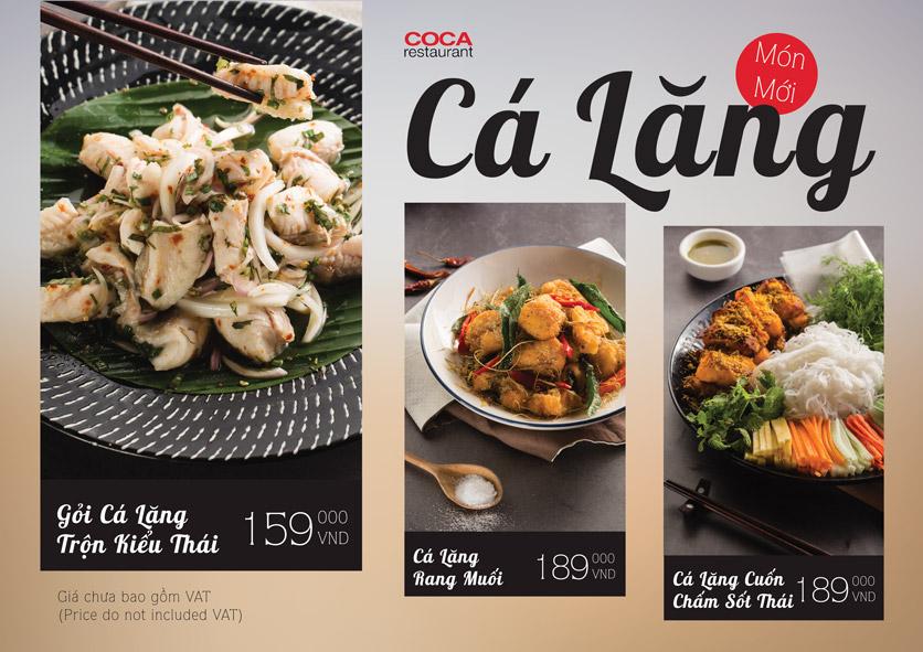 Menu COCA Restaurant - Nhà hàng lẩu Thái - Láng Hạ 45