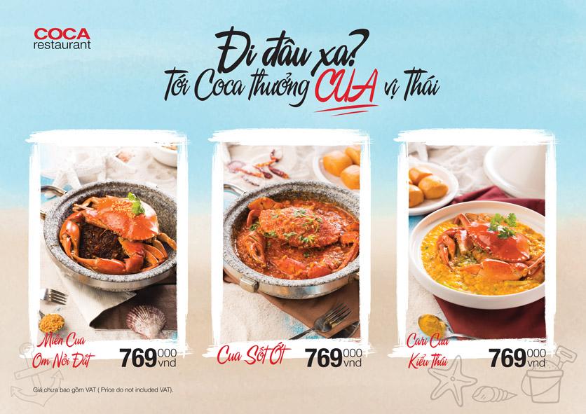 Menu COCA Restaurant - Nhà hàng lẩu Thái - Láng Hạ 46