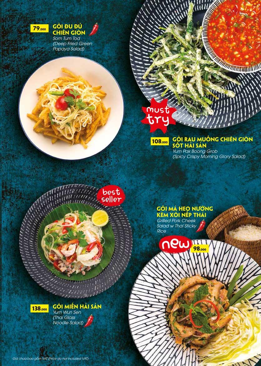 Menu COCA Restaurant - Nhà hàng lẩu Thái - Láng Hạ 12