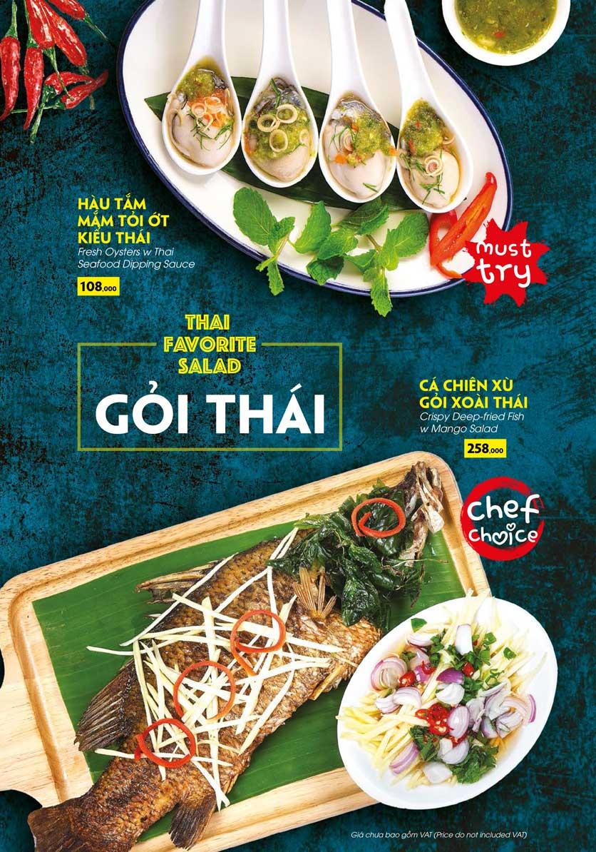 Menu COCA Restaurant - Nhà hàng lẩu Thái - Láng Hạ 13