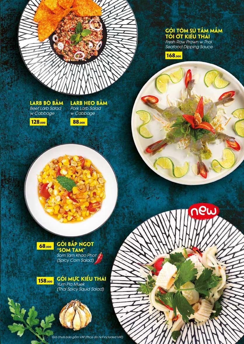 Menu COCA Restaurant - Nhà hàng lẩu Thái - Láng Hạ 14