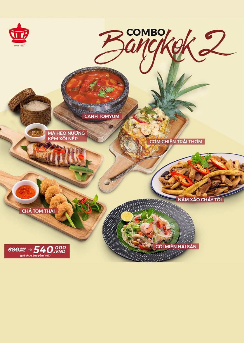 Menu COCA Restaurant Hanoi - Láng Hạ 2