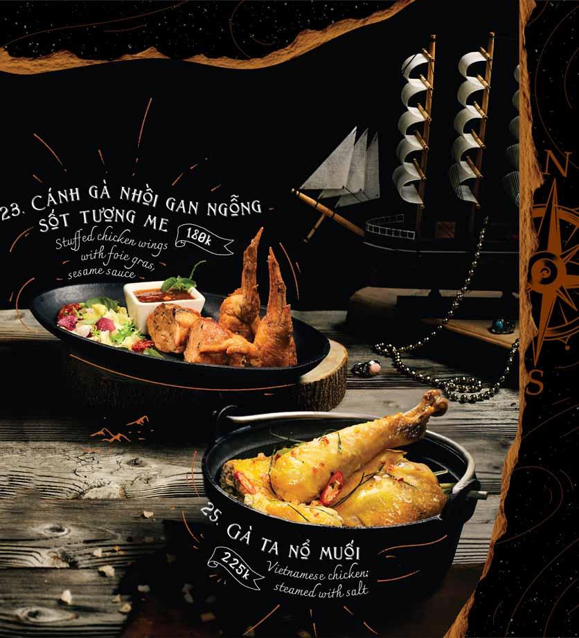 Menu Corner308 Cuisine & Live Music - Điện Biên Phủ   10