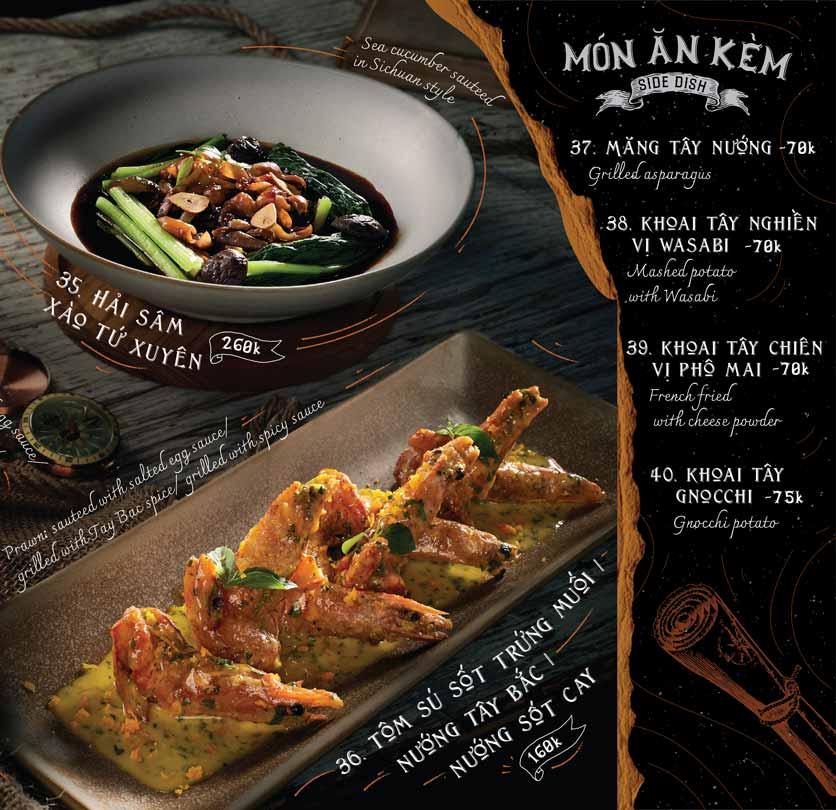 Menu Corner308 Cuisine & Live Music - Điện Biên Phủ   16