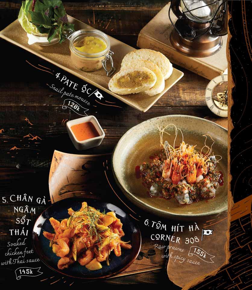 Menu Corner308 Cuisine & Live Music - Điện Biên Phủ   2