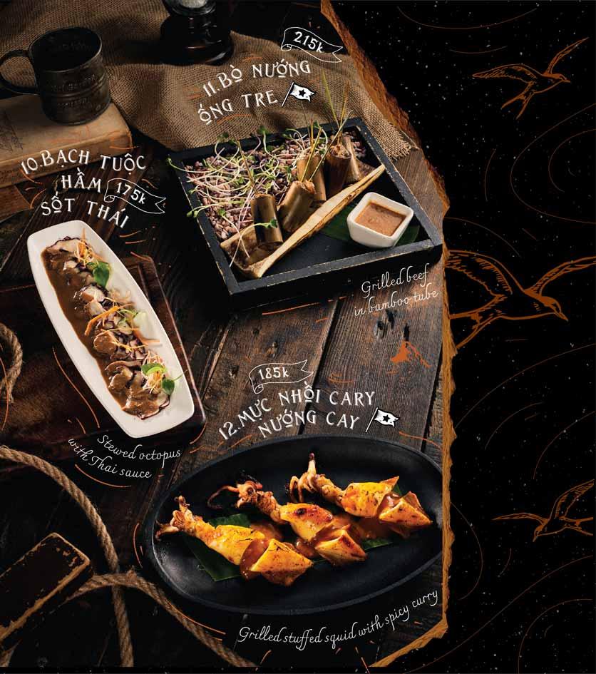 Menu Corner308 Cuisine & Live Music - Điện Biên Phủ   4