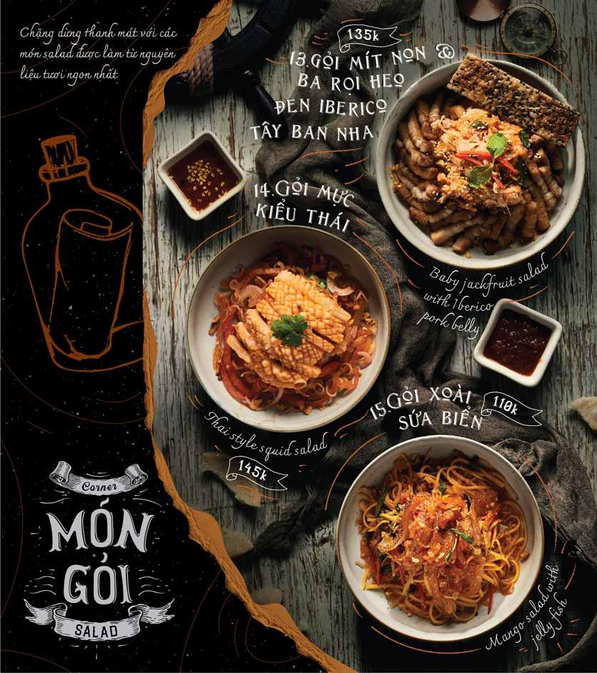 Menu Corner308 Cuisine & Live Music - Điện Biên Phủ   5