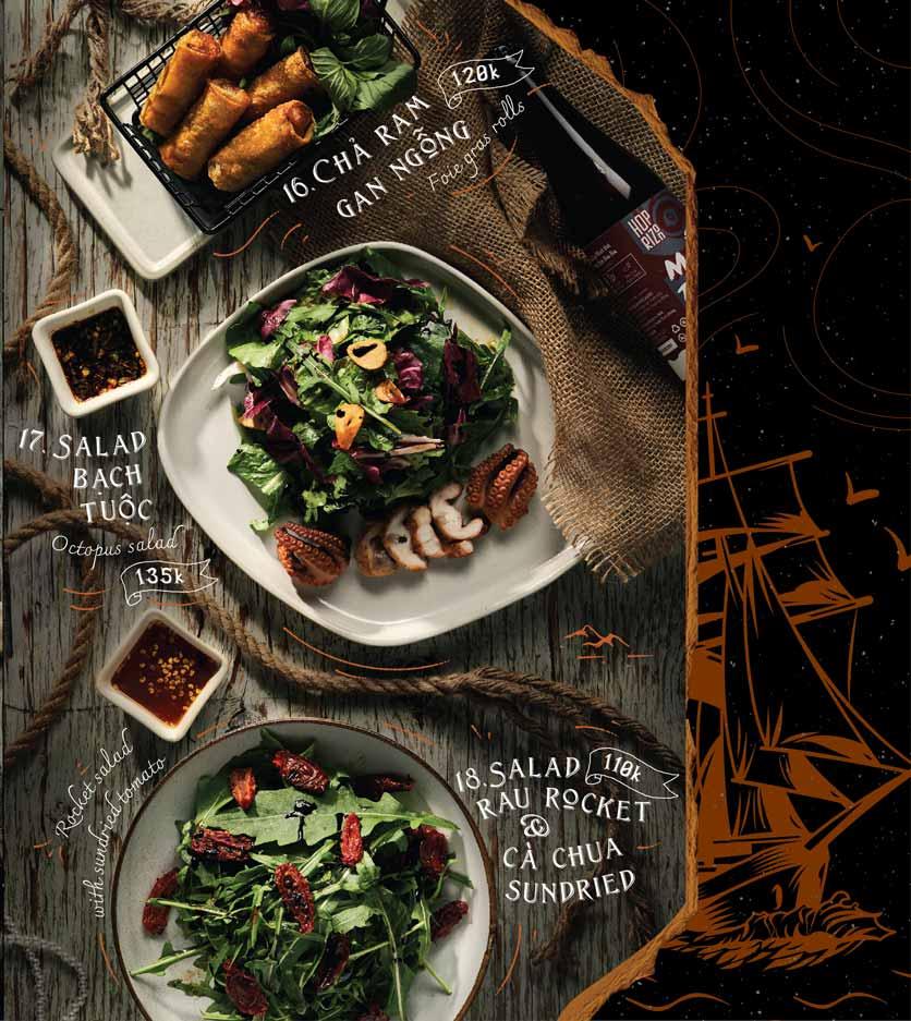 Menu Corner308 Cuisine & Live Music - Điện Biên Phủ   6