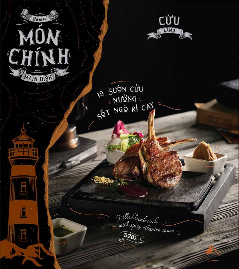 Menu Corner308 Cuisine & Live Music - Điện Biên Phủ   7