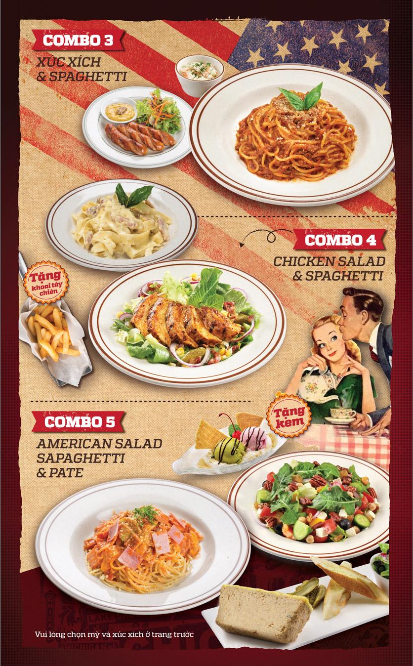 Menu Cowboy Jack's American Dining – Hoàng Đạo Thúy 2