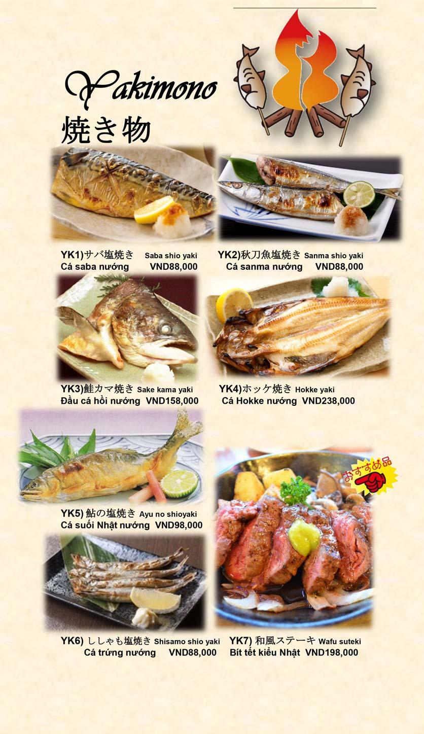 Menu Doki Doki Sushi Club - Nguyễn Hoàng 15
