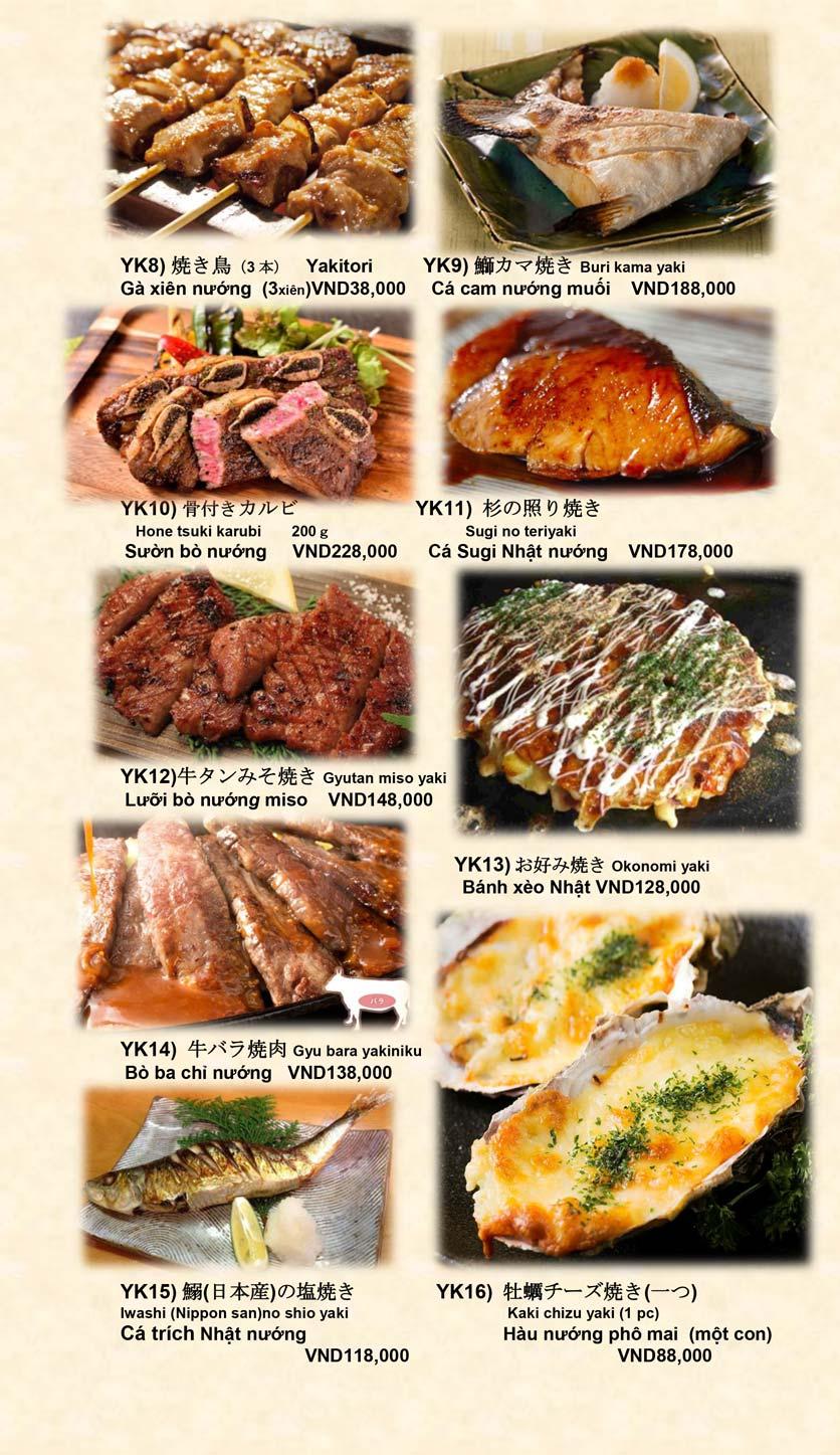 Menu Doki Doki Sushi Club - Nguyễn Hoàng 16