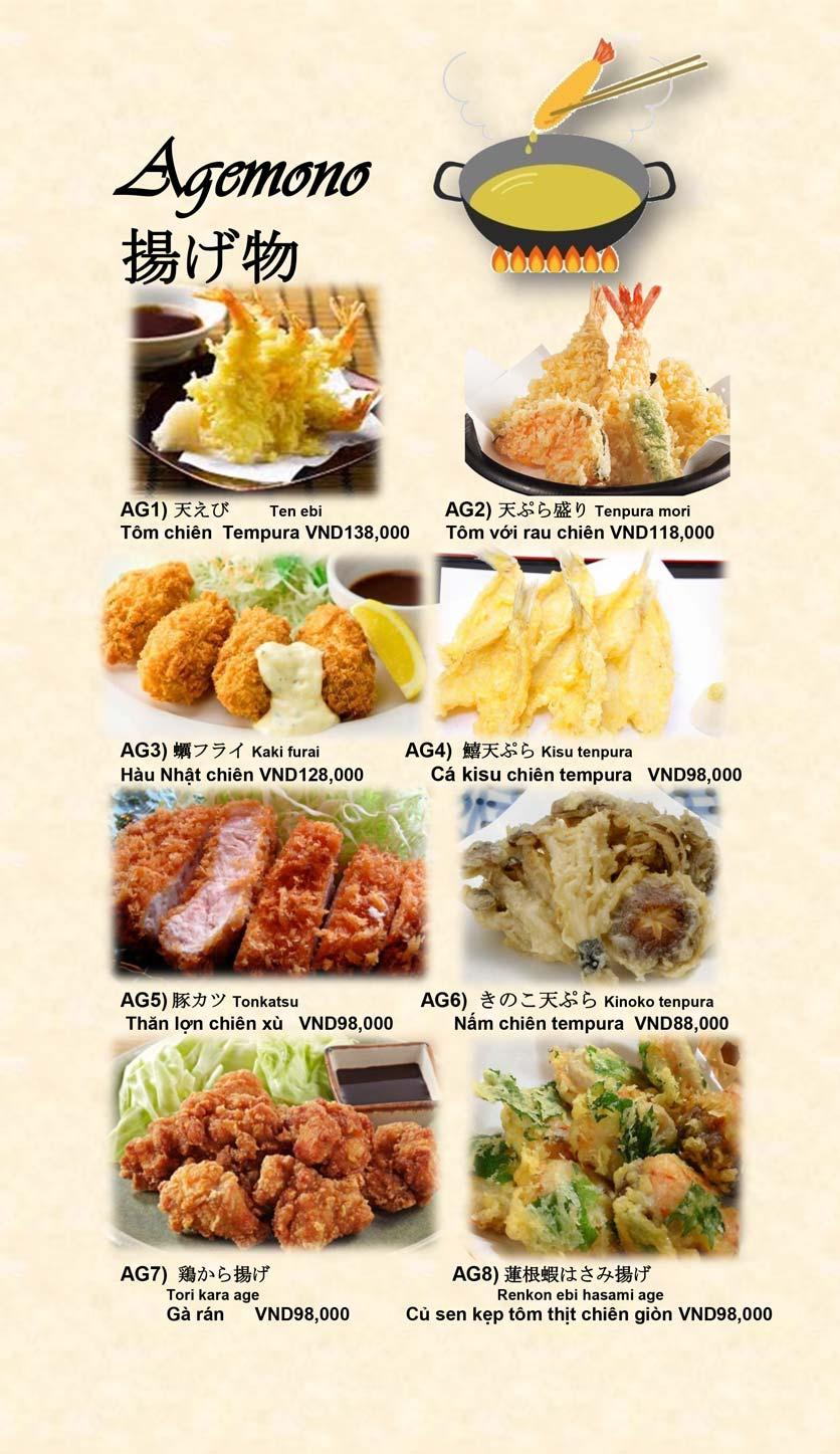 Menu Doki Doki Sushi Club - Nguyễn Hoàng 17