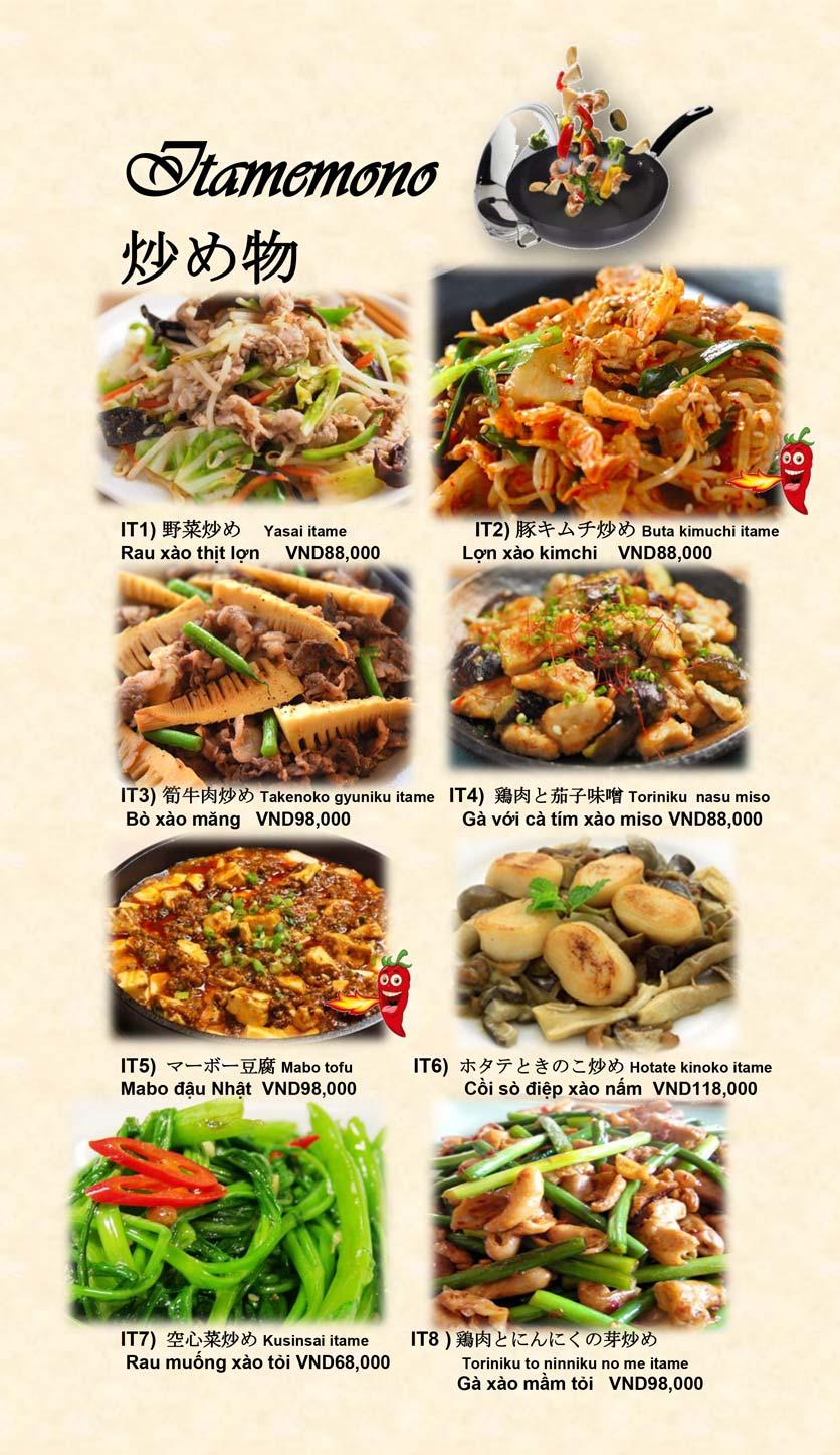 Menu Doki Doki Sushi Club - Nguyễn Hoàng 19