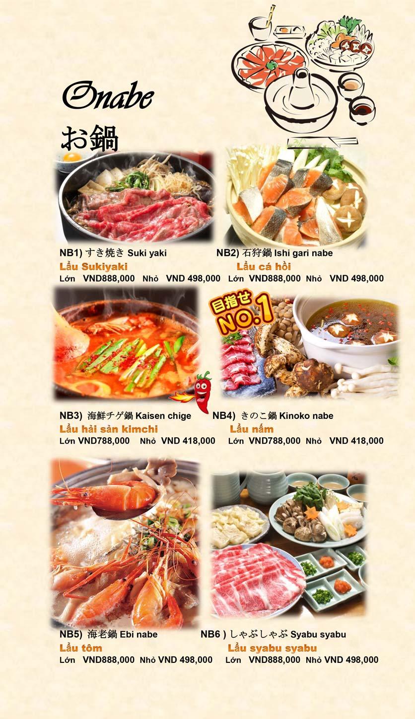 Menu Doki Doki Sushi Club - Nguyễn Hoàng 20
