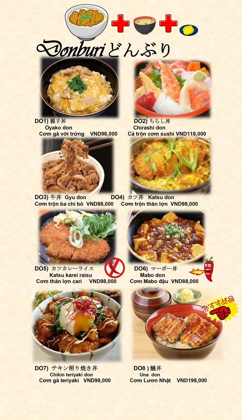 Menu Doki Doki Sushi Club - Nguyễn Hoàng 21