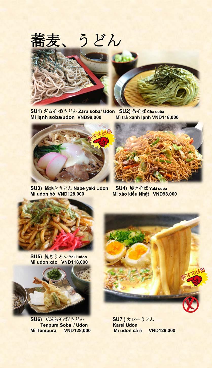 Menu Doki Doki Sushi Club - Nguyễn Hoàng 23