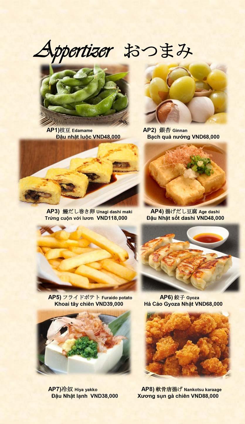 Menu Doki Doki Sushi Club - Nguyễn Hoàng 13