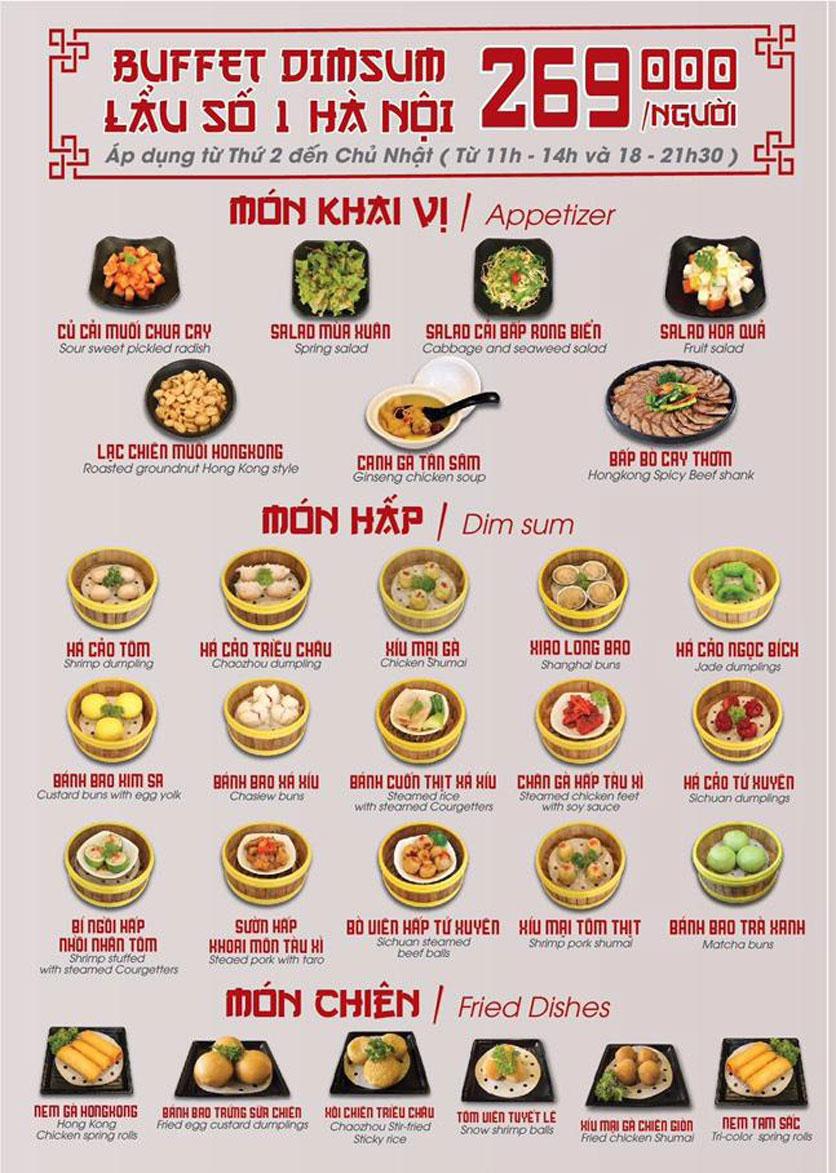 Menu Nhà hàng Dimsum & Lẩu Trung Hoa - FengHuang – Linh Đàm 3