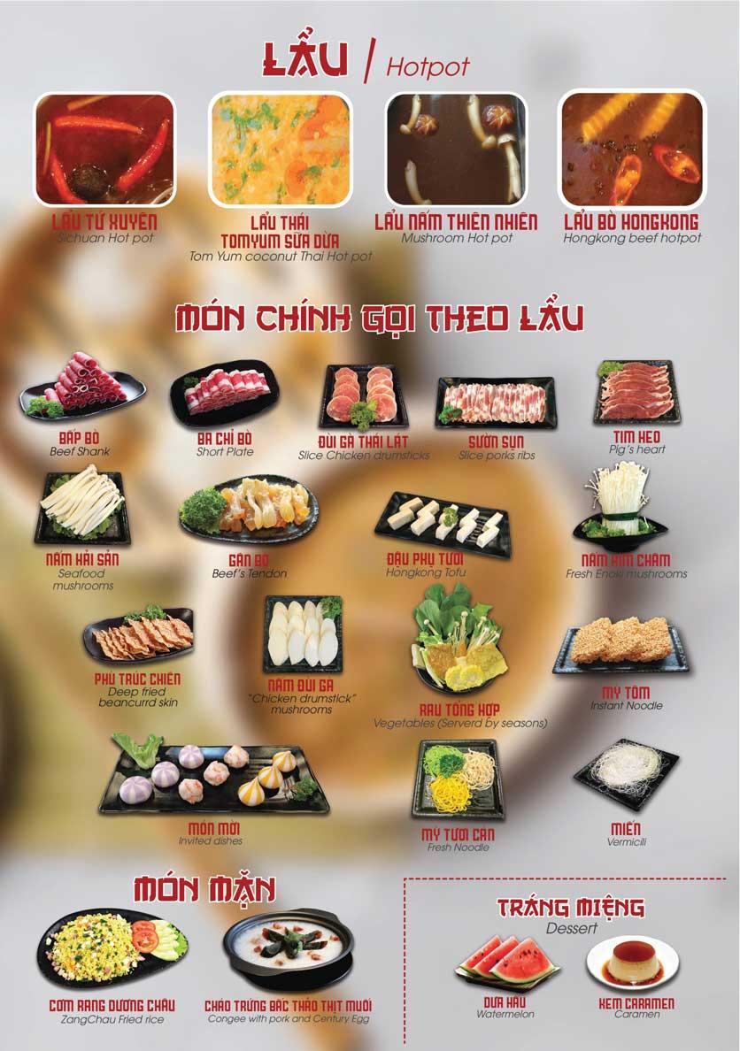 Menu Nhà hàng Dimsum & Lẩu Trung Hoa - FengHuang – Triệu Việt Vương 2