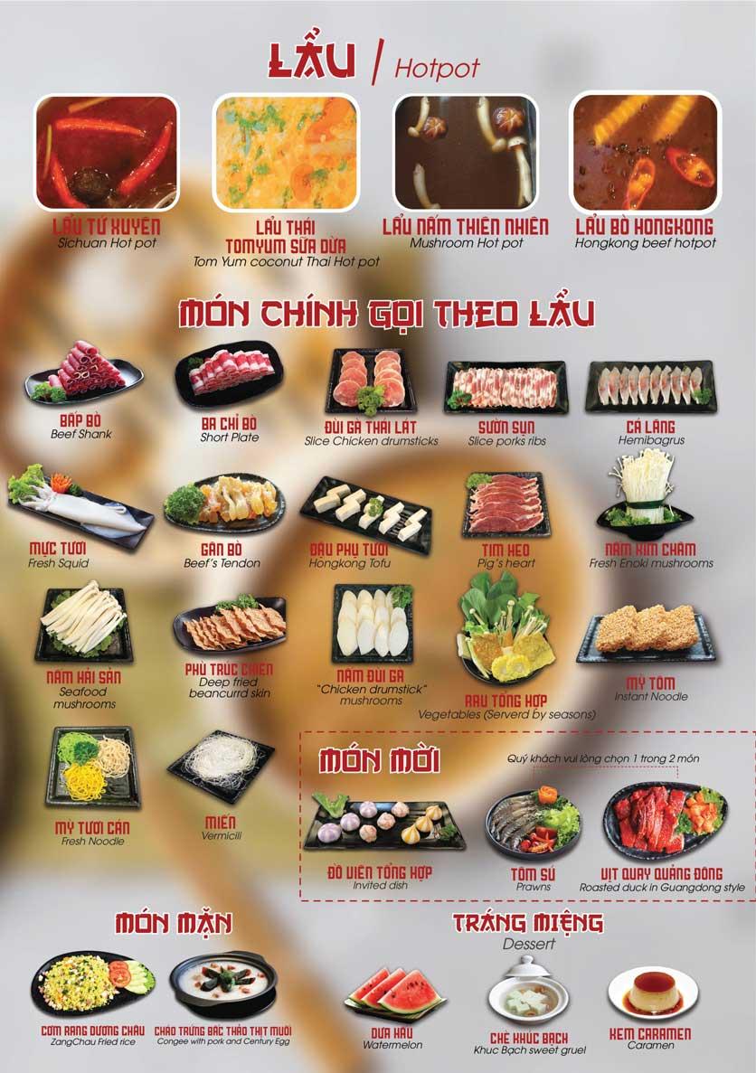 Menu Nhà hàng Dimsum & Lẩu Trung Hoa - FengHuang – Triệu Việt Vương 4