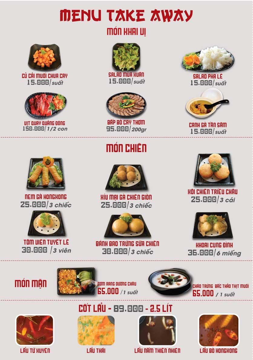 Menu Nhà hàng Dimsum & Lẩu Trung Hoa - FengHuang – Triệu Việt Vương 6