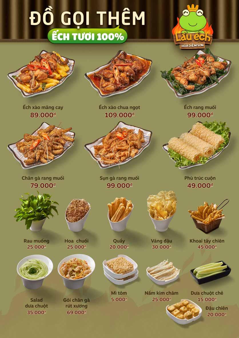 Menu Food House - Tô Hiệu  3