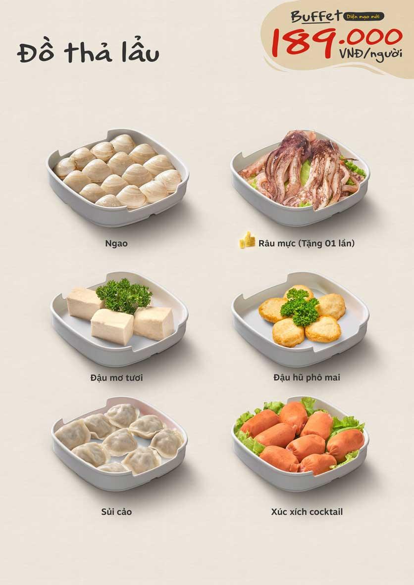 Menu Food House - Nguyễn Trãi 4