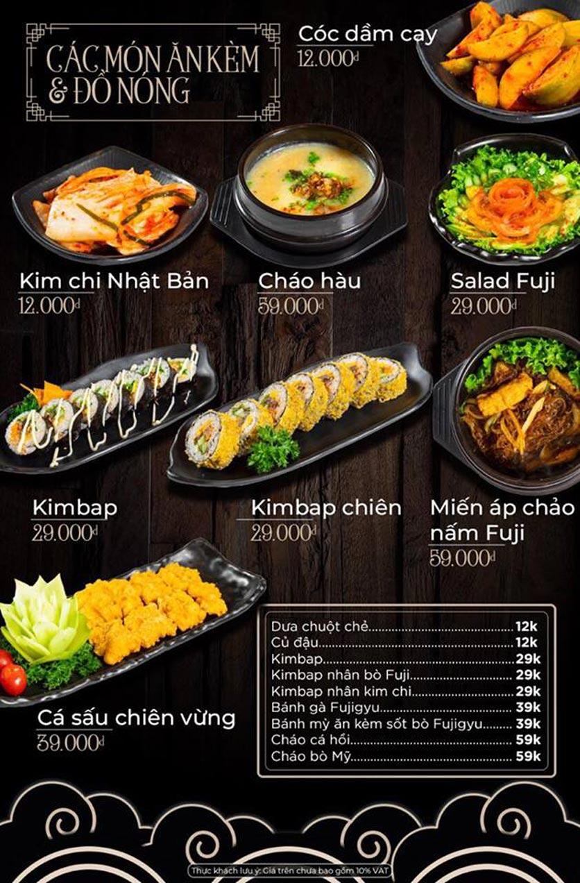 Menu Kỳ Ngư Restaurant - Vũ Tông Phan 10